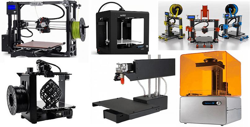 3D-tulostimia