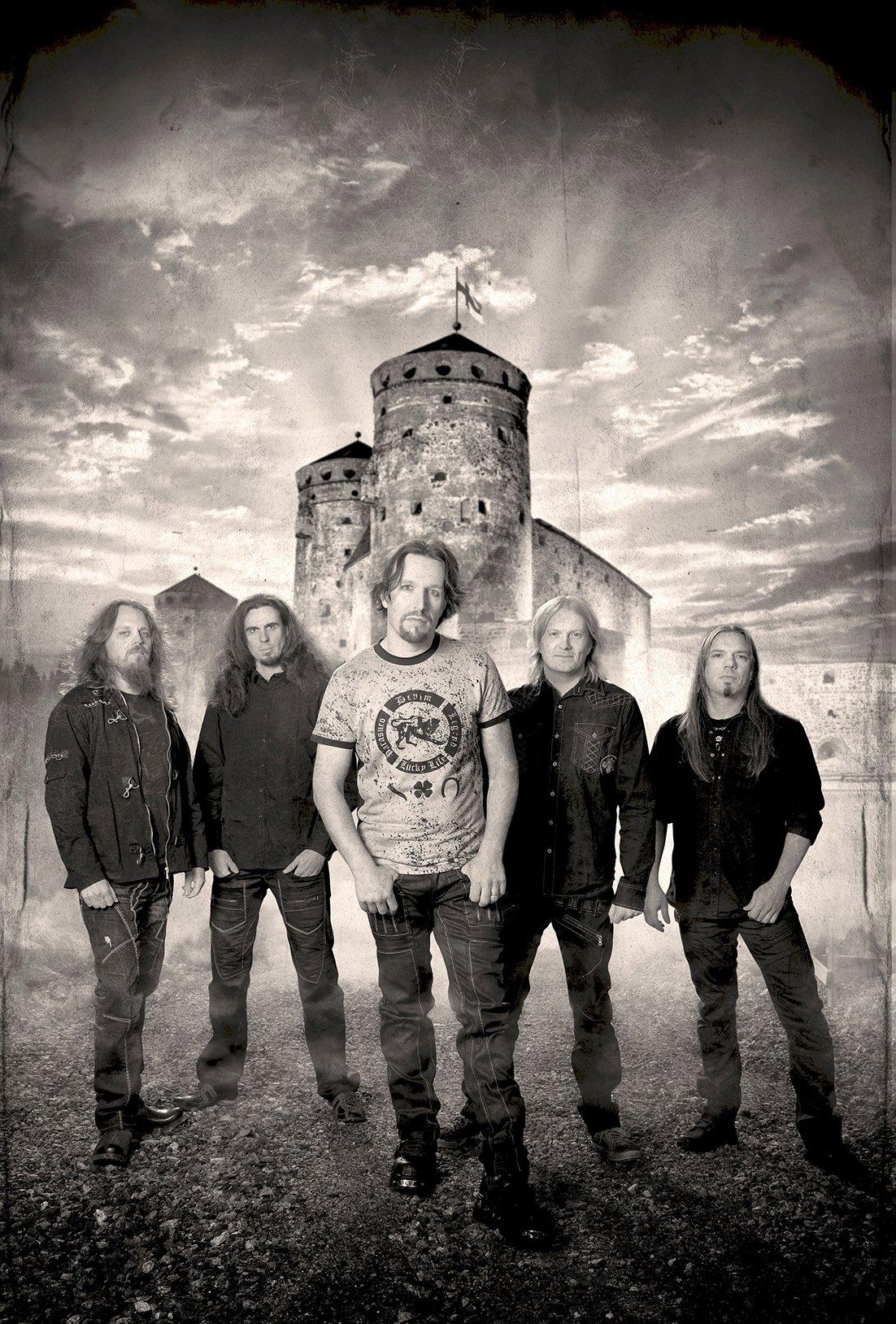 Yhtyeen kokoonpano on: Tony Kakko (laulu), Henrik Klingenberg (koskettimet), Elias Viljanen (kitara),Pasi Kauppinen (basso) ja Tommy Portimo (rummut).