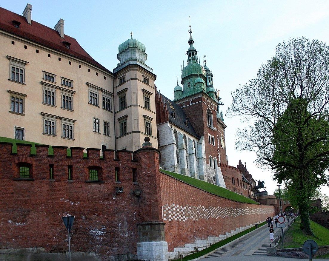 Wawelin alue oli pääkaupunkiaikana merkittävä poliittinen näyttämö.