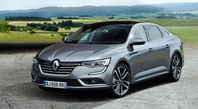 Renault Talisman sedan ja farmarimalli esitellään yleisölle Frankfurtin autonäyttelyssä syyskuun 17. päivänä.