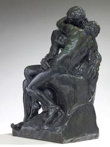 Auguste Rodin: Suudelma (1882-1898) Musee Rodin. Kuva: Christian Baraja.