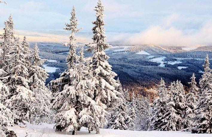 TRYSIL, NORJA Trysil on verrattain kallis, mutta hintansa arvoinen laskettelukeskus Norjassa. Rinteet pysyvät valkoisina lumitykkien ansiosta, ja laskettelu Trysilissä sujuukin pehmeästi ja tasaisesti. Täällä kokeneet laskijat etsinevät haasteita ennemmin murtomaahiihdosta tai lumilautailusta. Suurin osa rinteistä on puurajan alapuolella, mutta ylhäällä pääset ottamaan unohtumattoman selfien kahlaten puolen metrin puuterissa.