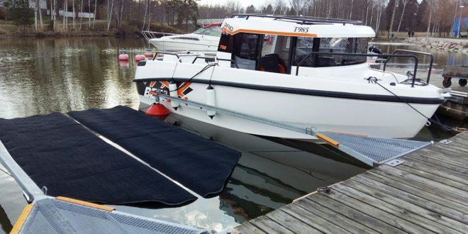 Veneen pohjan myrkkymaalaamiselle on vaihtoehtoja